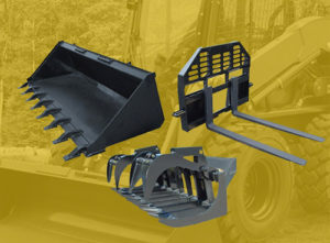 What Is A Skid >> Skid Steer Attachments Aim Attachments Factory Direct Attachment