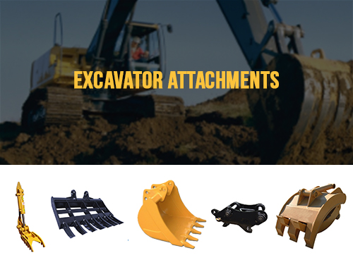 Excavator Attachments - Aim Attachments | Factory Direct Pricing